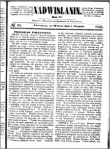 Nadwiślanin, 1855.08.07 R. 6 nr 61