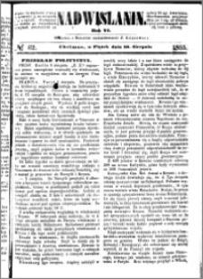 Nadwiślanin, 1855.08.10 R. 6 nr 62