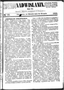 Nadwiślanin, 1855.08.14 R. 6 nr 63