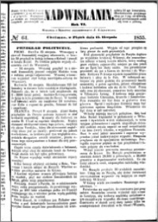 Nadwiślanin, 1855.08.17 R. 6 nr 64