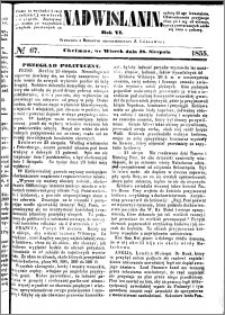 Nadwiślanin, 1855.08.28 R. 6 nr 67