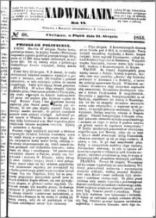 Nadwiślanin, 1855.08.31 R. 6 nr 68