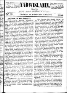 Nadwiślanin, 1855.09.04 R. 6 nr 69