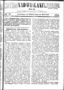 Nadwiślanin, 1855.09.18 R. 6 nr 73