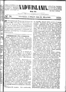 Nadwiślanin, 1855.09.28 R. 6 nr 76