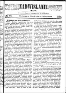 Nadwiślanin, 1855.10.05 R. 6 nr 78