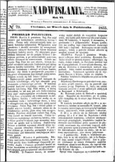 Nadwiślanin, 1855.10.09 R. 6 nr 79
