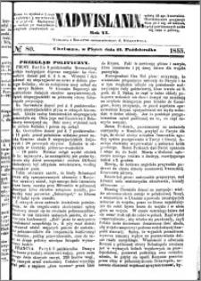 Nadwiślanin, 1855.10.12 R. 6 nr 80