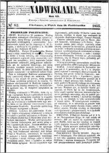 Nadwiślanin, 1855.10.19 R. 6 nr 82