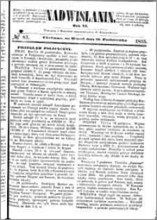 Nadwiślanin, 1855.10.23 R. 6 nr 83