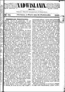 Nadwiślanin, 1855.10.26 R. 6 nr 84