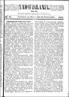 Nadwiślanin, 1855.10.30 R. 6 nr 85