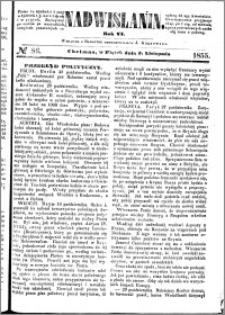 Nadwiślanin, 1855.11.02 R. 6 nr 86