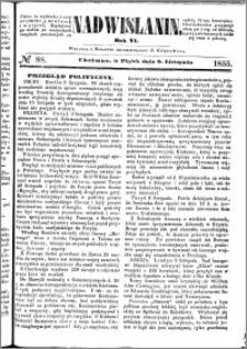 Nadwiślanin, 1855.11.09 R. 6 nr 88