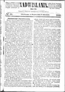 Nadwiślanin, 1855.12.07 R. 6 nr 96