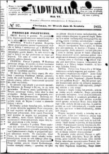 Nadwiślanin, 1855.12.11 R. 6 nr 97