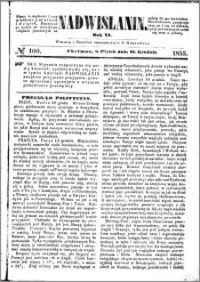 Nadwiślanin, 1855.12.21 R. 6 nr 100