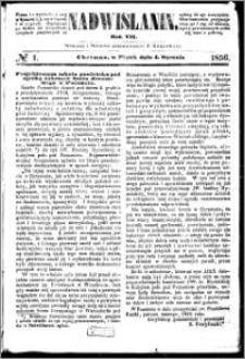 Nadwiślanin, 1856.01.04 R. 7 nr 1