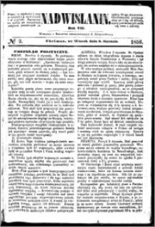 Nadwiślanin, 1856.01.08 R. 7 nr 2