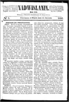 Nadwiślanin, 1856.01.11 R. 7 nr 3