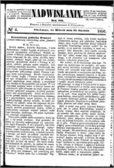 Nadwiślanin, 1856.01.22 R. 7 nr 6