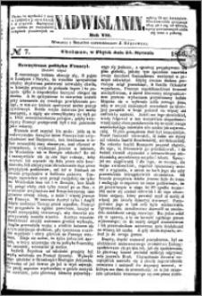 Nadwiślanin, 1856.01.25 R. 7 nr 7