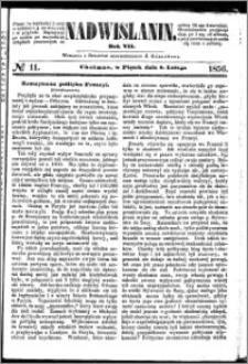 Nadwiślanin, 1856.02.08 R. 7 nr 11