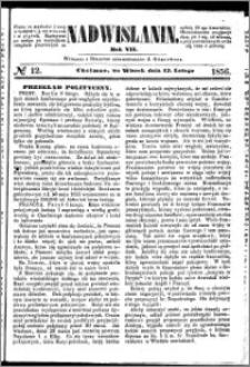Nadwiślanin, 1856.02.12 R. 7 nr 12