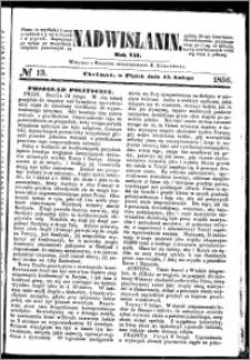 Nadwiślanin, 1856.02.15 R. 7 nr 13