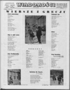 Wiadomości, R. 24 nr 6 (1193), 1969