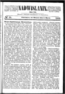 Nadwiślanin, 1856.03.04 R. 7 nr 18