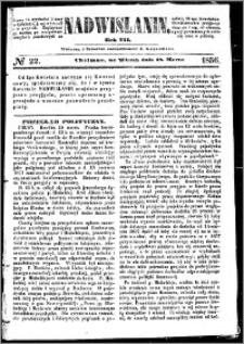 Nadwiślanin, 1856.03.18 R. 7 nr 22