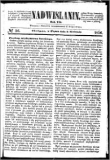 Nadwiślanin, 1856.04.04 R. 7 nr 26