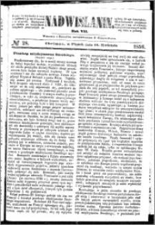 Nadwiślanin, 1856.04.11 R. 7 nr 28