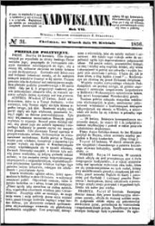 Nadwiślanin, 1856.04.22 R. 7 nr 31
