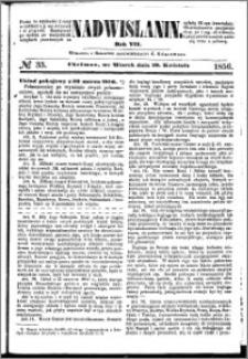 Nadwiślanin, 1856.04.29 R. 7 nr 33