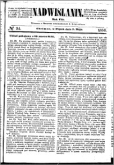 Nadwiślanin, 1856.05.02 R. 7 nr 34