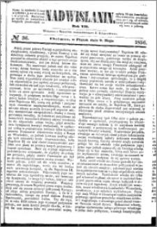Nadwiślanin, 1856.05.09 R. 7 nr 36
