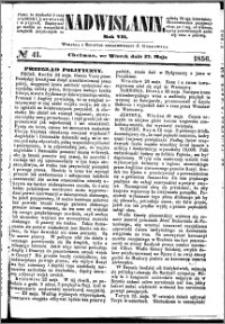Nadwiślanin, 1856.05.27 R. 7 nr 41