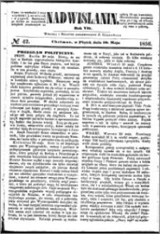 Nadwiślanin, 1856.05.30 R. 7 nr 42