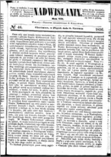 Nadwiślanin, 1856.06.06 R. 7 nr 44