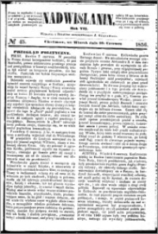 Nadwiślanin, 1856.06.10 R. 7 nr 45