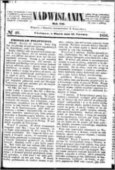 Nadwiślanin, 1856.06.13 R. 7 nr 46