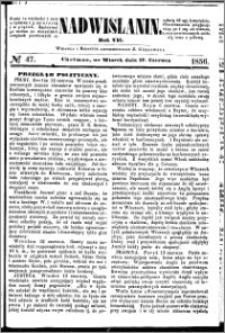 Nadwiślanin, 1856.06.17 R. 7 nr 47
