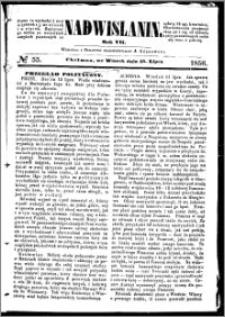 Nadwiślanin, 1856.07.15 R. 7 nr 55