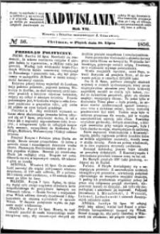 Nadwiślanin, 1856.07.18 R. 7 nr 56