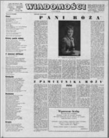 Wiadomości, R. 24 nr 8 (1195), 1969