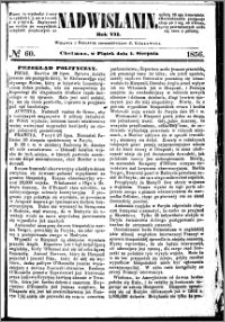 Nadwiślanin, 1856.08.01 R. 7 nr 60