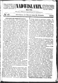 Nadwiślanin, 1856.08.26 R. 7 nr 67