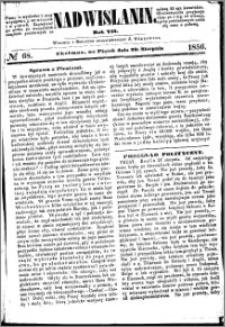 Nadwiślanin, 1856.08.29 R. 7 nr 68
